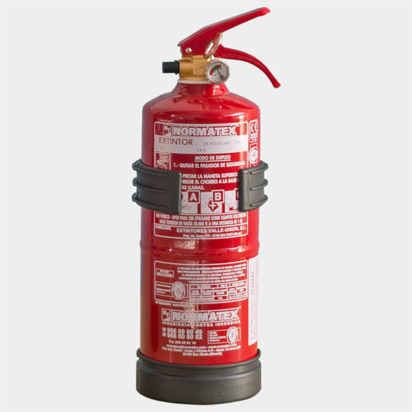 Extintor de 2 kg de polvo ABC