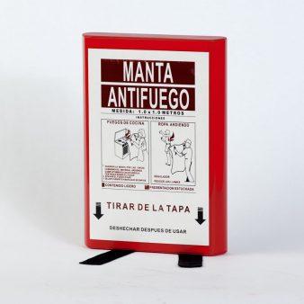 manta ignífuga antifuego 100x100 cm