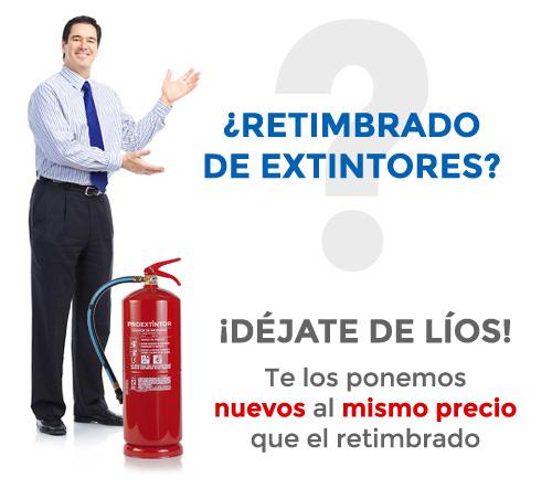 No retimbres extintores, mejor uno nuevo