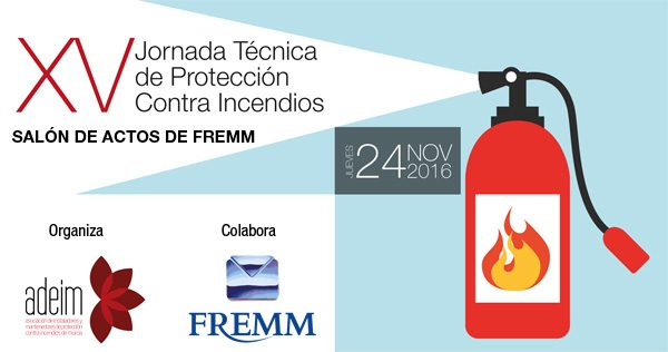Cartel XV Jornada Contra Incendios