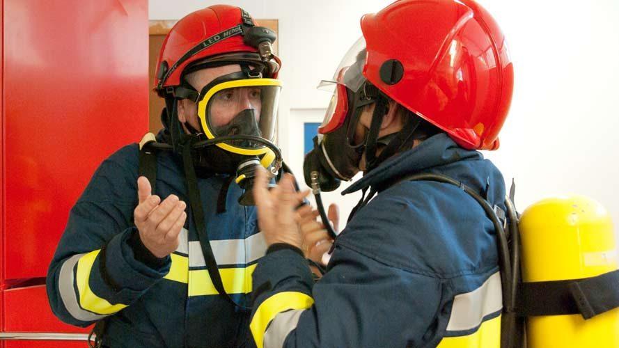 Simulacro evacuación Día del Fuego