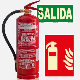 Pack anti incendios obligatorio comercios