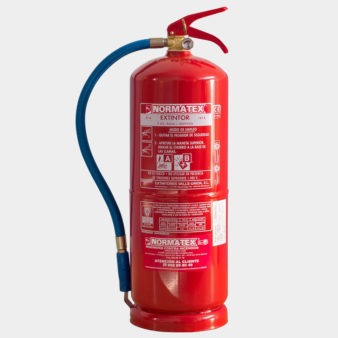 Extintor de 8 litros de agua pulverizada