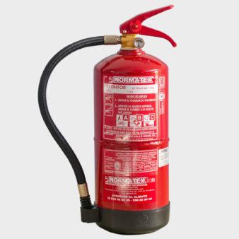 Extintor de 4 kg de polvo químico ABC