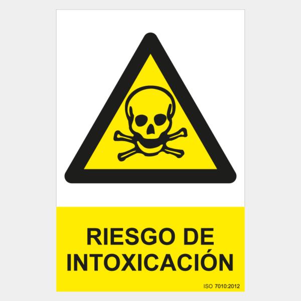 Señal de riesgo de intoxicación