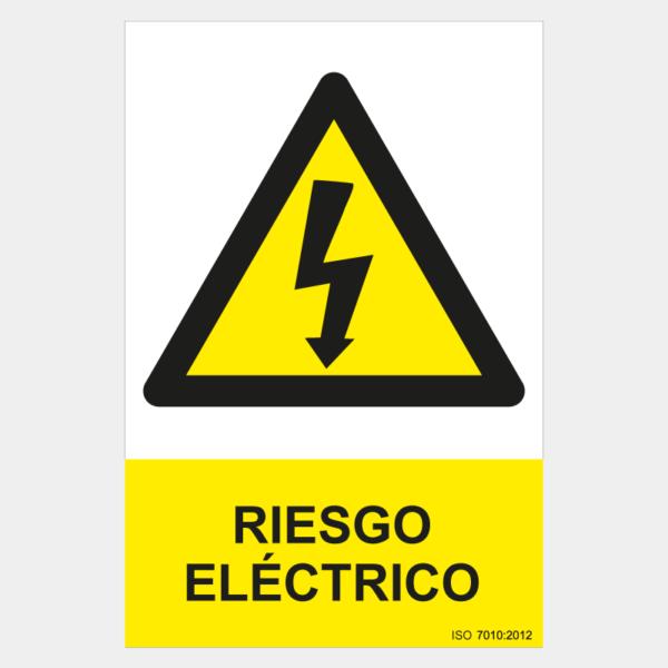 Señal de riesgo eléctrico