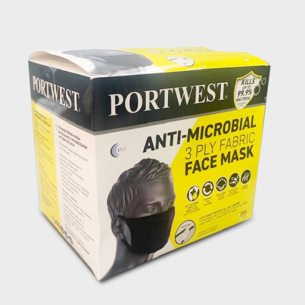 Mascarillas reutilizables antimicrobianas